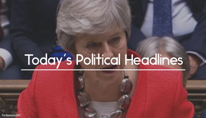 Theresa May second meaningful vote