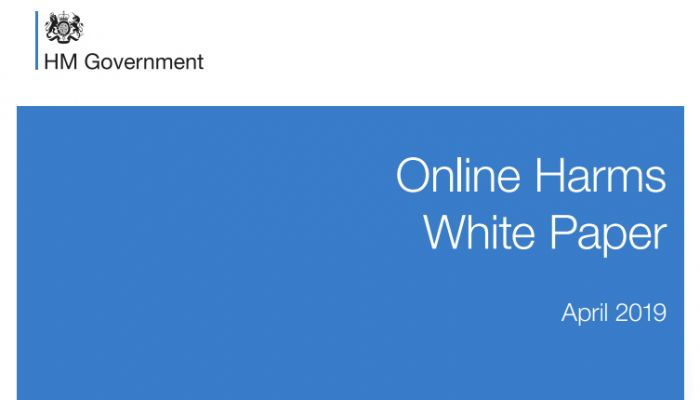 Online Harms white paper
