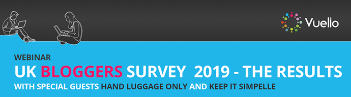 Vuelio Bloggers Survey 2019 Webinar