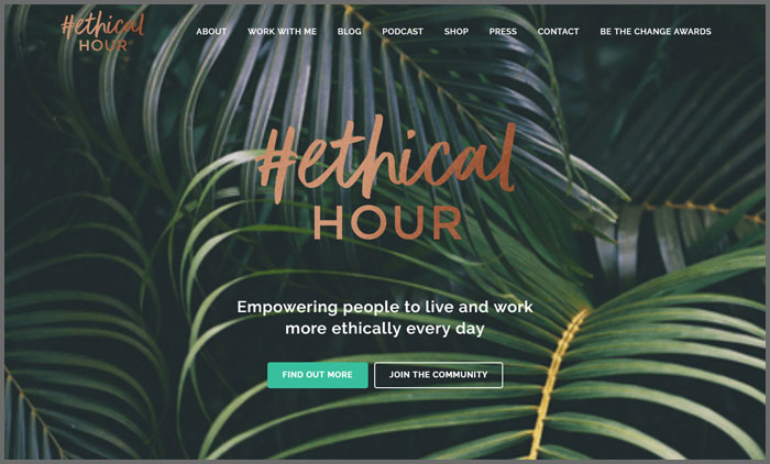 #EthicalHour