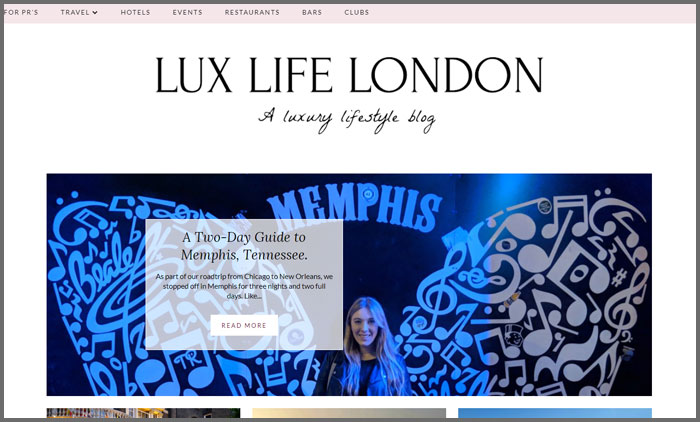 Lux Life London