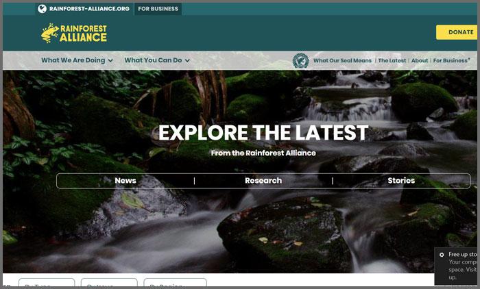 Rainforest Alliance Blog