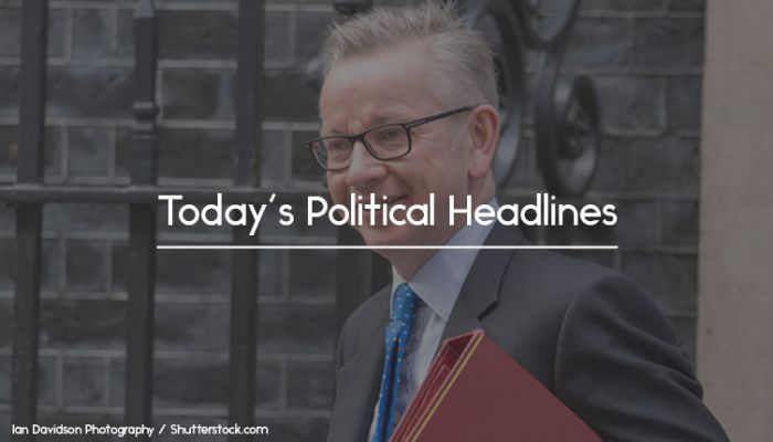 michael gove headlines