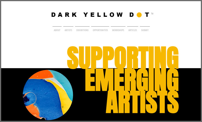 Dark Yellow Dot