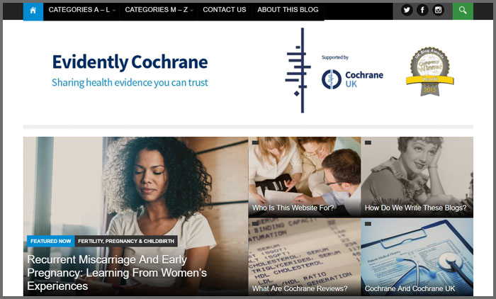 Evidently Cochrane