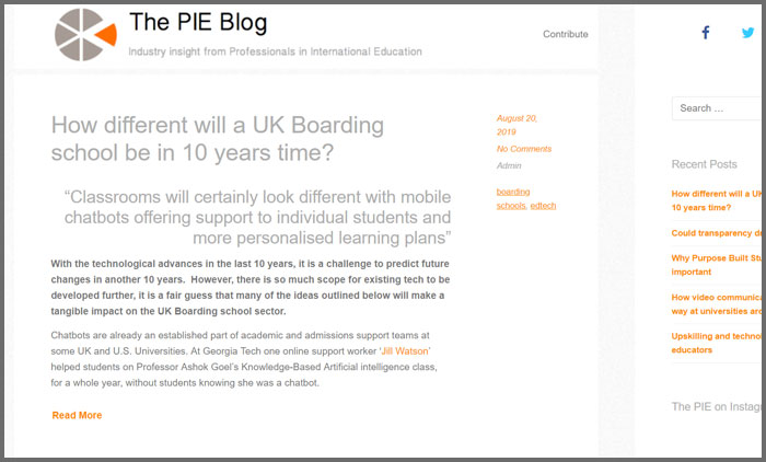 The PIE Blog