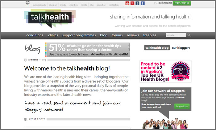 talkhealth blog