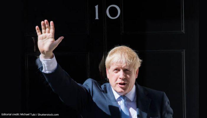 Boris Johnson no 10