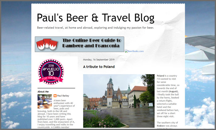 Paul's Beer & Travel Blog