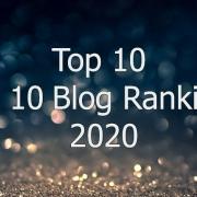 Top 10 Top 10 Blog Rankings 2020