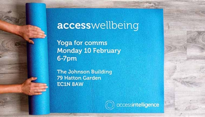 accesswellbeing: Yoga for comms