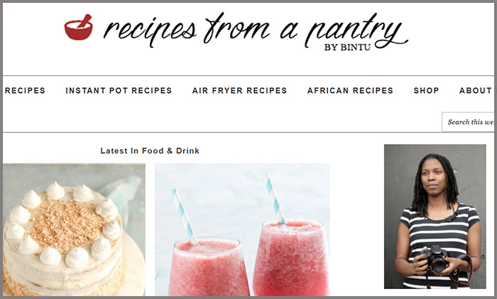 Recipes From A Pantry