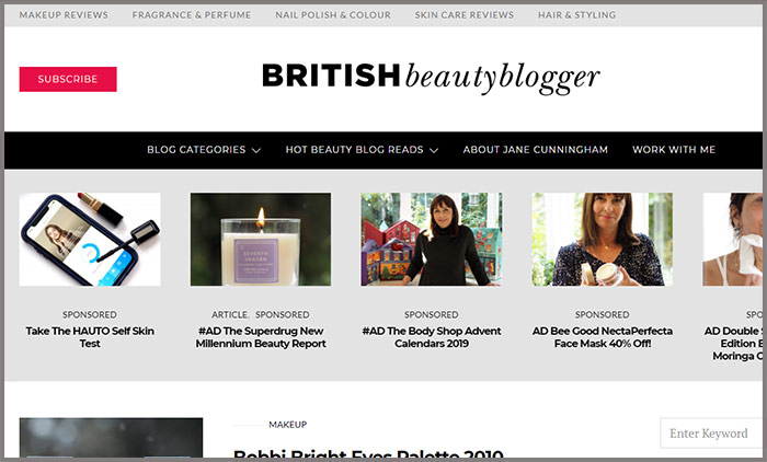 British Beauty Blogger