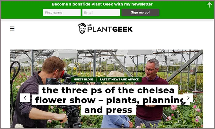 Mr Plant Geek