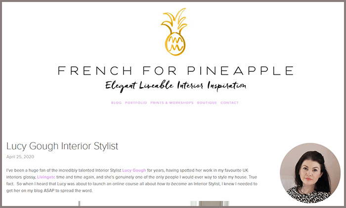 French For Pineapple