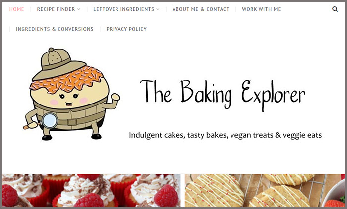 The Baking Explorer