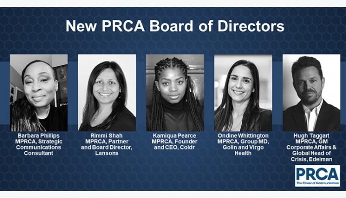 PRCA Board of Directors 2020