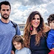 Vicki Broadbent and family
