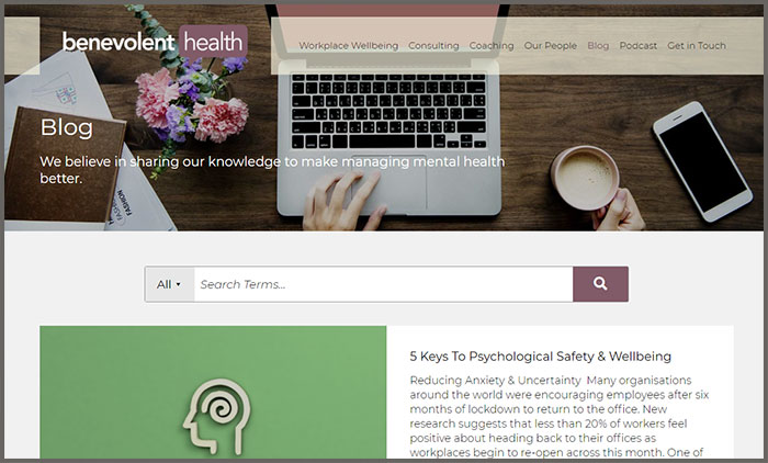 Benevolent Health Blog
