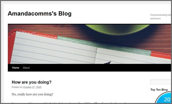 Amandacomm's Blog