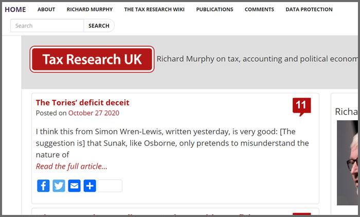Tax Research UK