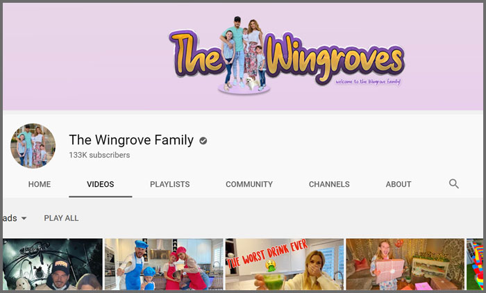 The Wingrove Family