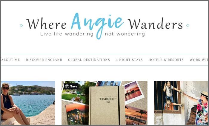Where Angie Wanders