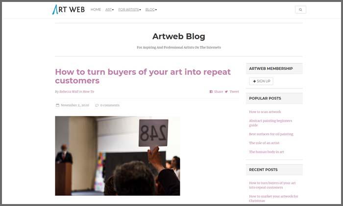 ArtWeb Blog