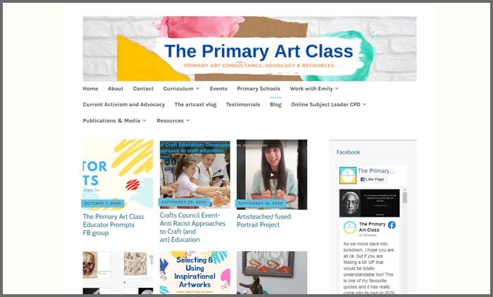 The Primary Art Class