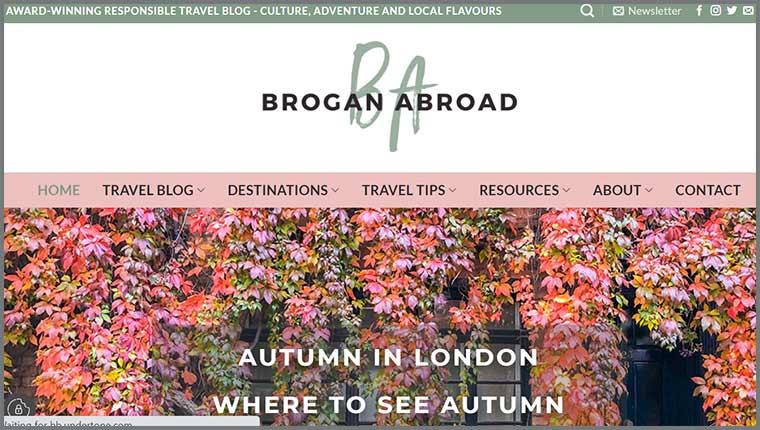 Brogan Abroad