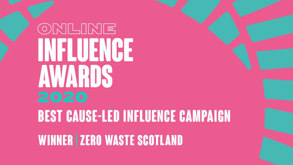 Cause Led - Winner - Zero Waste Scotland