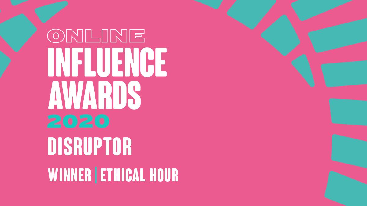 Disruptor - Winner - Ethical Hour