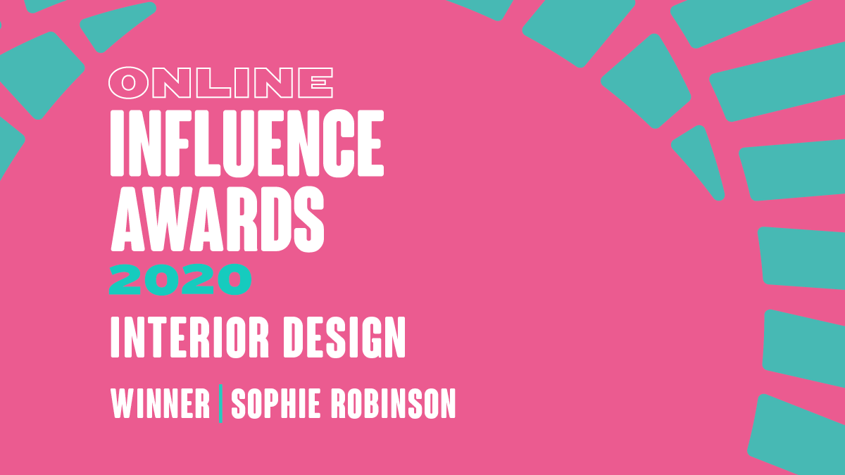 Interior Design - Winner - Sophie Robinson