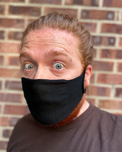 Mike Douglas masked