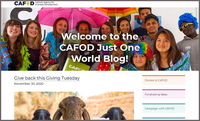 CAFOD blog