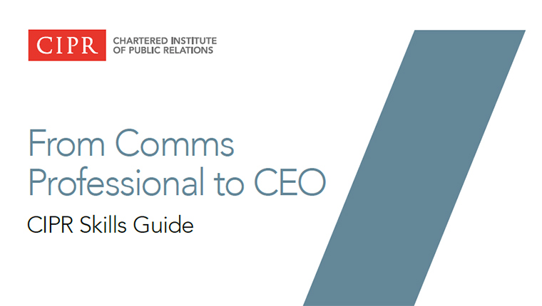 From Comms Professional to CEO