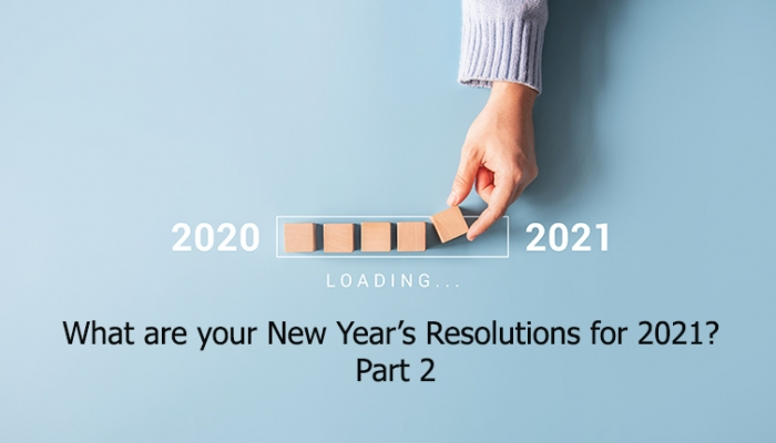 PR and comms people what are your New Year's Resolutions for 2021? Part 2