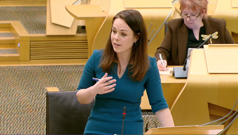 Scottish budget Kate Forbes