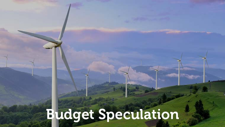 Green recovery budget 2021