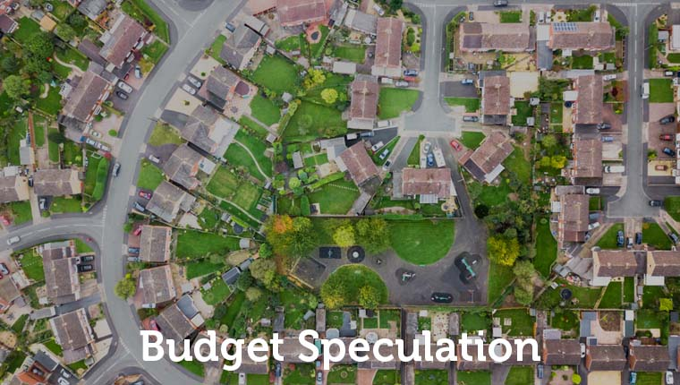 Budget speculation Housing