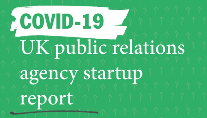 COVID-19 UK public relations agency startup report