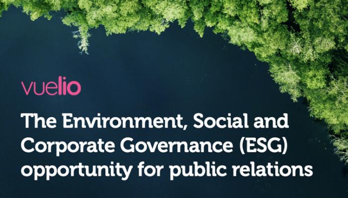 ESG whitepaper public relations