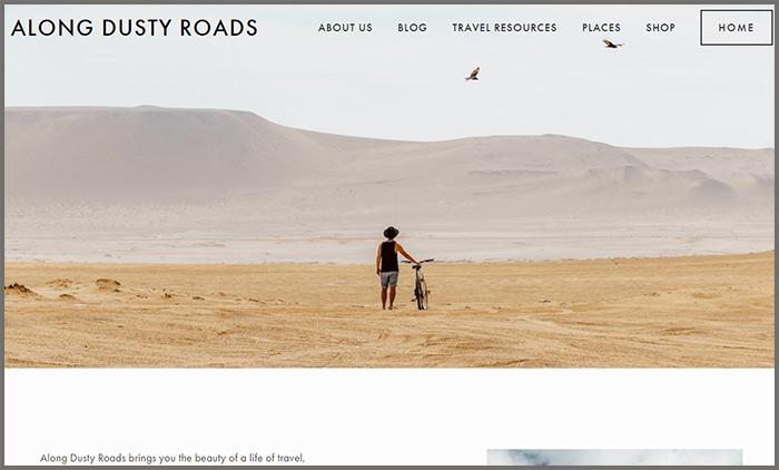 Along Dusty Roads