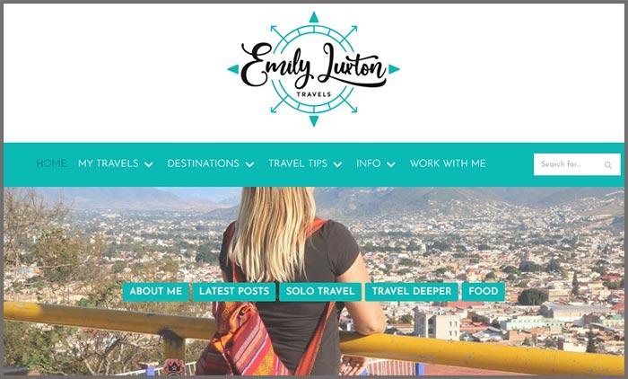 Emily Luxton Travels