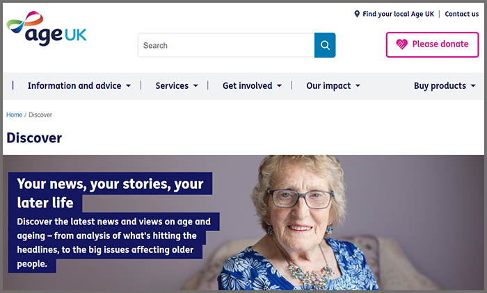 Discover Age UK