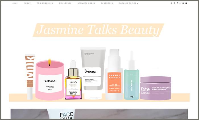 Jasmine Talks Beauty