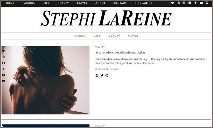 Stephi Lareine